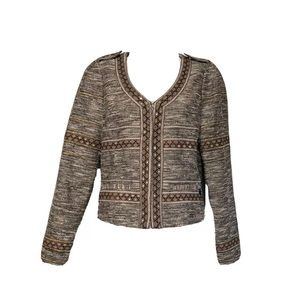 Maison Scotch 'Star de la Saison' Tweed Blazer 2